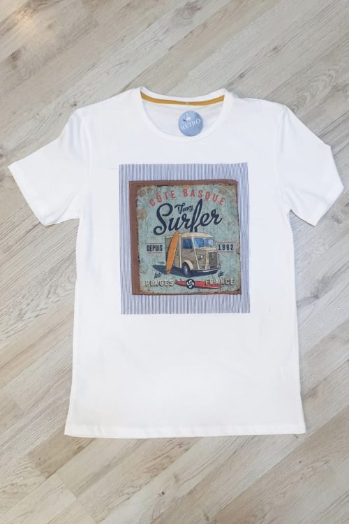 T-shirt stampa SURF